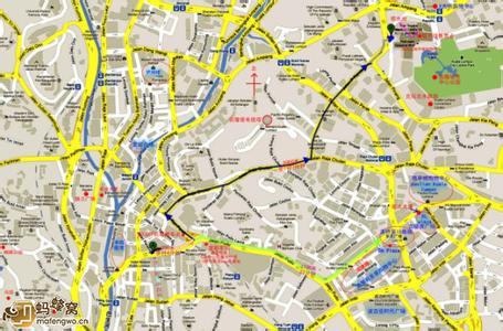 吉隆坡地图 马来西亚吉隆坡地图中文版 高清 下载 世界地图图片