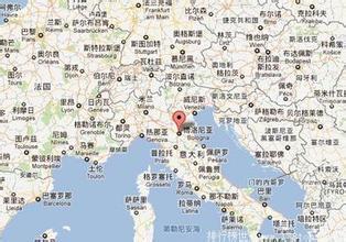 博洛尼亚地图_意大利博洛尼亚地图中文版_高清_下载-世界地图