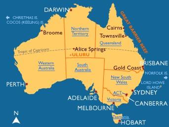 世界地图 > 最新澳大利亚地图高清全图  澳大利亚地图茶,咖啡,可乐类