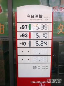 唐山油价查询_唐山今日油价_唐山汽油价格